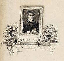 Whistler (Rex) - 5 unidentified original drawings,