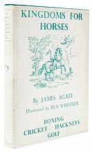 Agate (James) - Kingdoms for Horses,