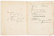 Marinetti (Filippo Tommaso) - La Ville Charnelle,