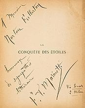 Marinetti (Filippo Tommaso) - La Conquête des Étoiles,
