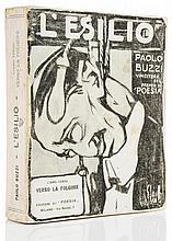 Buzzi (Paolo) - L'Esilio, poema in prosa, libro terzo,