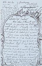 Collection of letters, including 25 Autograph Letters signed
