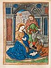 Book of Hours.- - Heures a lusaige de Romme,
