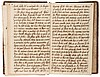 Dissertationes Medica, 2 vol., manuscript, titles and 394pp