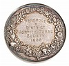 Pershore and District Horticultural Society, silver prize medal awarded 1922