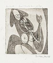 Stanley William Hayter (1901-1988) - Greeting card for 1948-49 (B.&M.189;)