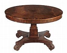 A George IV mahogany breakfast table, circa 1825