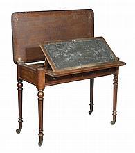 A George IV mahogany library table , circa 1825