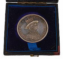 Christ's Hospital, Marker's Prize 1891, silver, bust right of Edward VI, rev