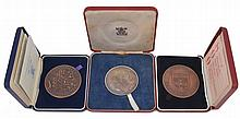 Royal Mint modern commemorative medals , Prince Charles Investiture, silver