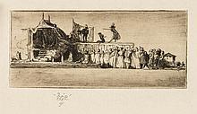 Craig (Edward Gordon) - Stage scene design, Commedia 1907,