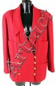 Chanel, Boutique, a raspberry wool boucle jacket,
