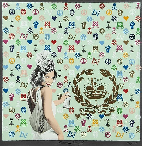 ARR Static (British, b.1983), Luxury Vandals,