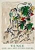 Marc Chagall (1887-1985)(after) - Affiche pour la Ville de Vence (m.92)