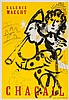 Marc Chagall (1887-1985)(after) - Le Clown Musicien (m.174)