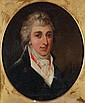 English School (19th century) Portrait of a