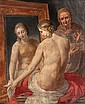 French School (17th century). A nude lady dressing
