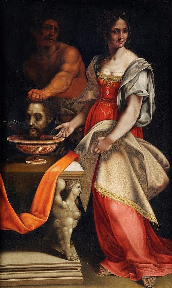 After Cesare da Sesto, Salome with the Head of
