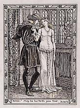 Walter Crane (1845-1915) - Anne: May be he tells you true,