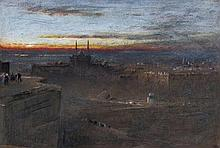 Albert Goodwin (1845-1932) - Sunrise, Cairo,