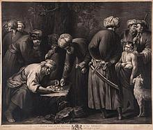 Robert Dunkarton (1744-1811) - Joseph Sold by his Brethren to the Ishmaelites,