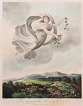 Thornton. Thomas Woolnoth (1785-c.1841) - Flora dispensing Her Favours on the Earth,