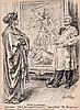 Sir Bernard J. Partridge (1861-1945) - Made in Germany (recto); The Shrine of Honour (verso),