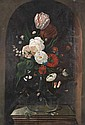 Manner of Hans Bollongier Floral still life on a