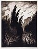 C.R.W. Nevinson (1889-1946) - Wind