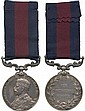 INDIAN DISTINGUISHED SERVICE MEDAL, GVR 1st type