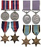 A WWII 'Bomber Command' DFM Group of 4 awarded to