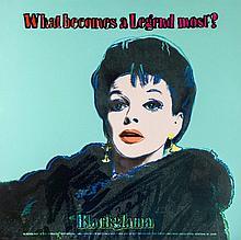 Andy Warhol (1928-1987) - Blackglama (Judy Garland) (F.&F.IIb.351;)