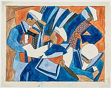 Lill Tschudi (1911-2004) - Sailors Holiday (See. C.L.T.24)