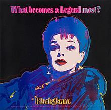 Andy Warhol (1928-1987) - Blackglama (Judy Garland) (F.&S.II.351;)