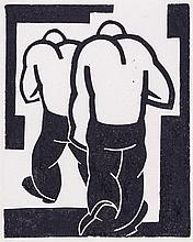 George William Bissill (1896-1973) - 2 Miners (see Garton page 244)