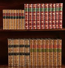 Milton (John) - The Works in Verse and Prose, 8 vol., contemporary prize calf, William Pickering, 1851 § Wheatley (Henry B., editor) The Diary of Samuel Pepys, 10 vol., later half calf, 1917 § Cunningham (Allan, editor) The Works of Robert Burns;