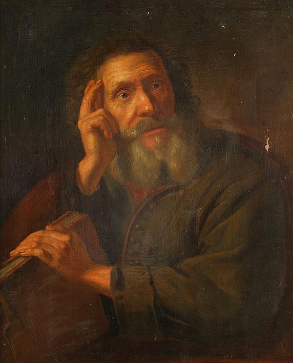 Follower of Philippe de Champaigne A philosopher