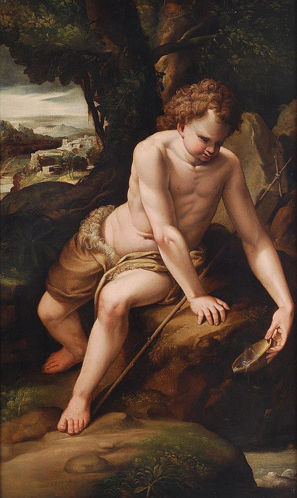 Flemish School (17th century) St. John the Baptist