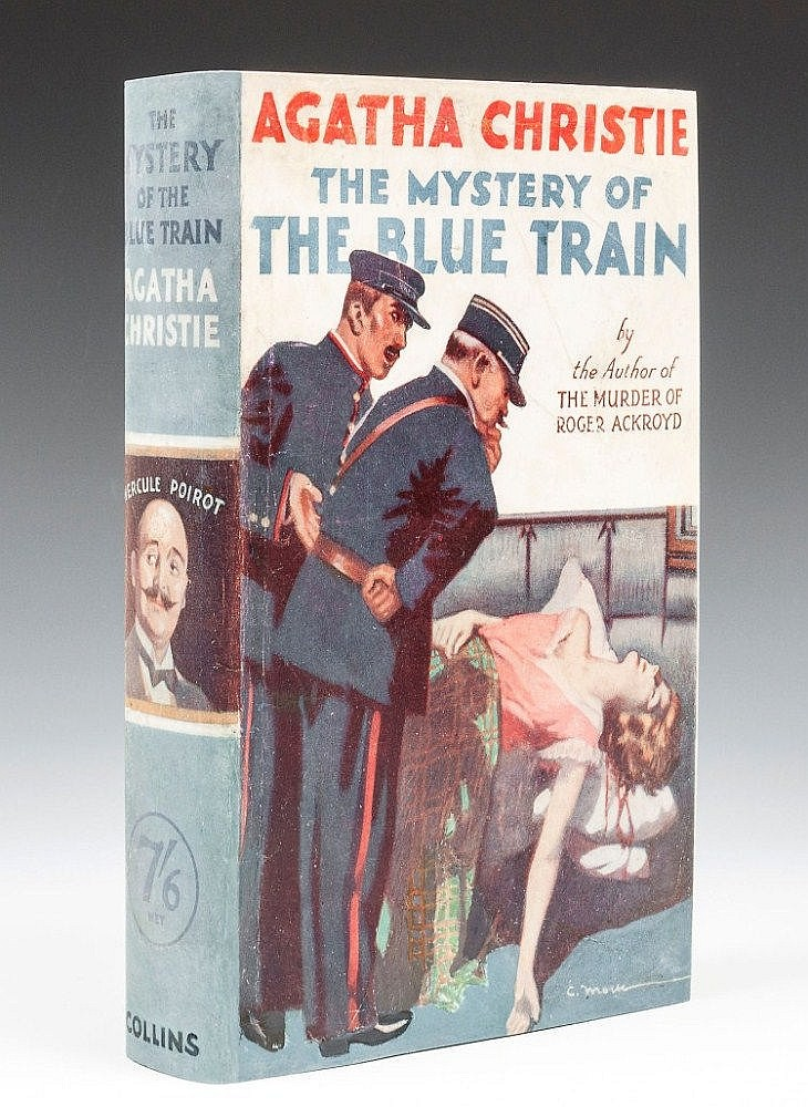 Christie (Agatha) - The Mystery of the Blue Train,