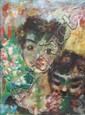 Edouard Joseph Goerg (1893-1969) Portrait of 2