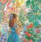 John Strevens (1902-1990) The blue butterfly Oil