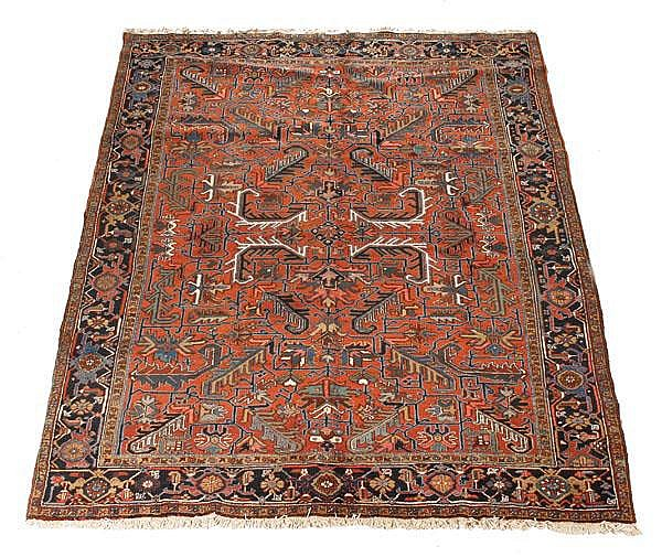 A Heriz carpet, approximately 240cm x 330cm