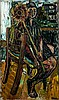John Bratby (1928-1992) Gloria Bishop with a