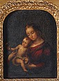 Italian School (18th century) Madonna and Child,