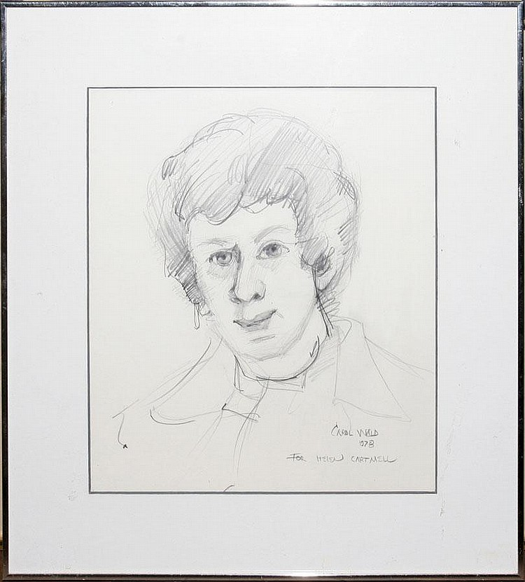 CAROL WALD [US B. 1935], PENCIL DRAWING, 1978, 11