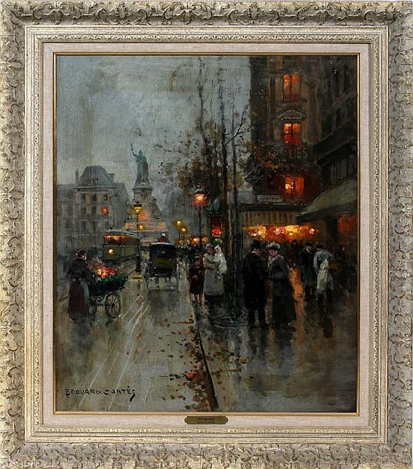 EDOUARD LÉON CORTÈS (FRENCH 1882-1969), OIL ON CANVAS, 25 1/2