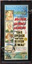 BRIDGE ON THE RIVER KWAI, MOVIE POSTER, C.1958, 28