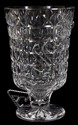 WATERFORD CRYSTAL VASE, H 10