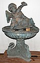 BRONZE CHERUB FOUNTAIN, 48
