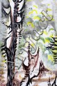 CHARLES BURCHFIELD [US 1893-1967], WATERCOLOR
